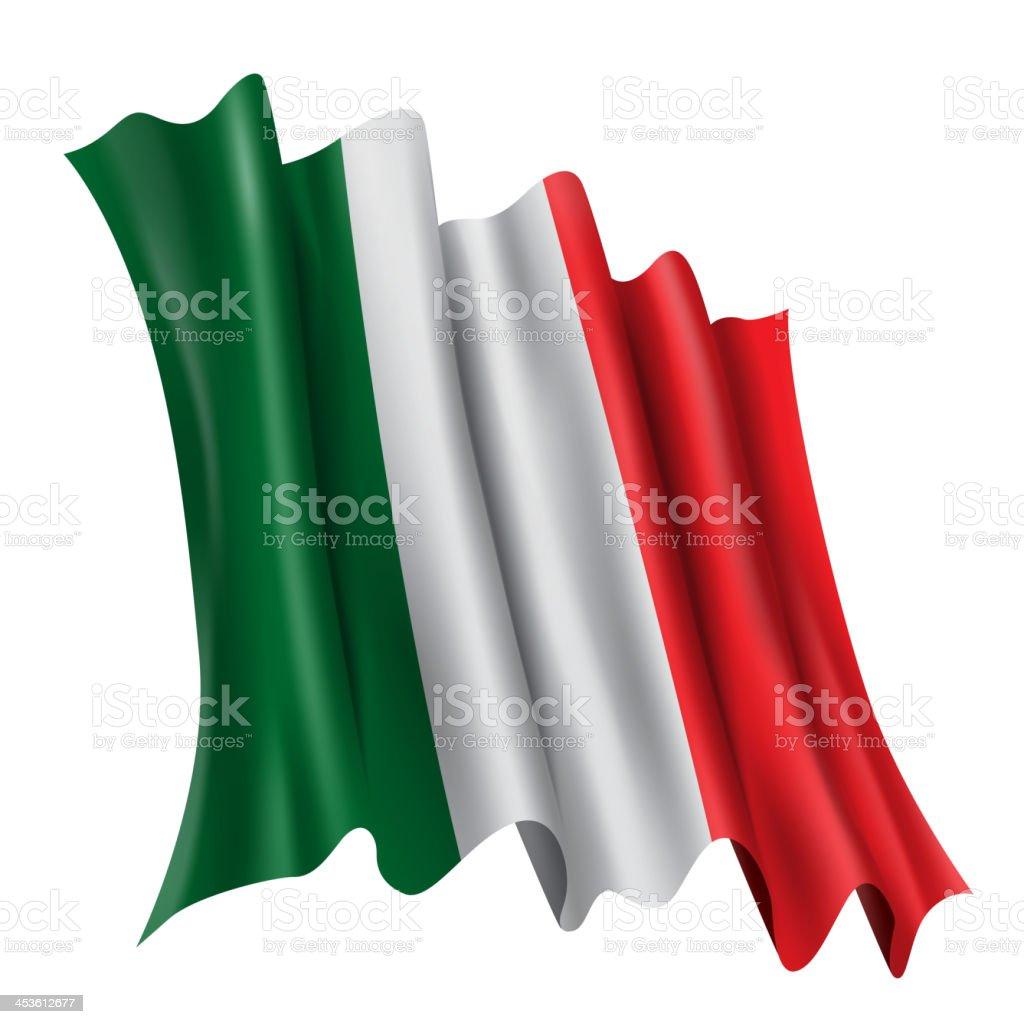 Italy, Flag royalty-free stock vector art