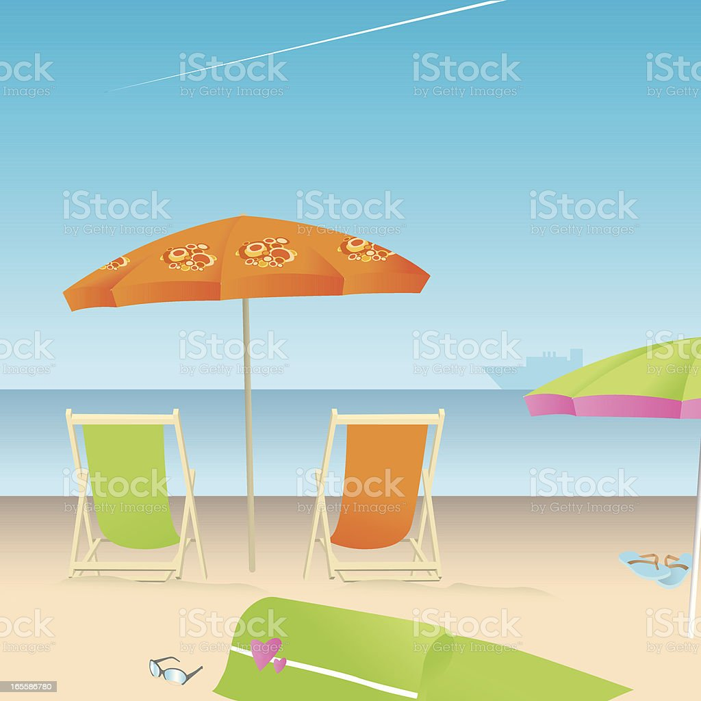 It's summer time! royalty-free stock vector art