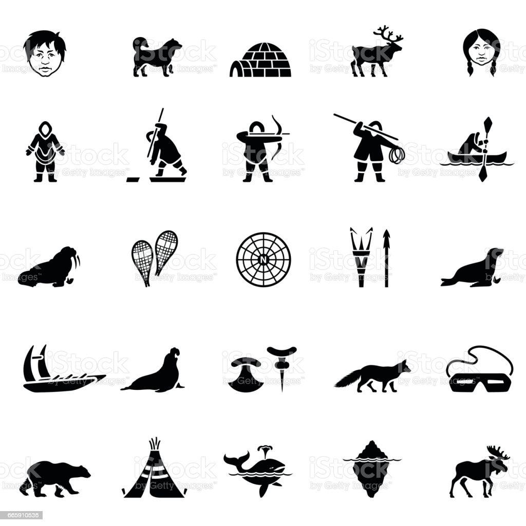 Iunit Icon Set vector art illustration