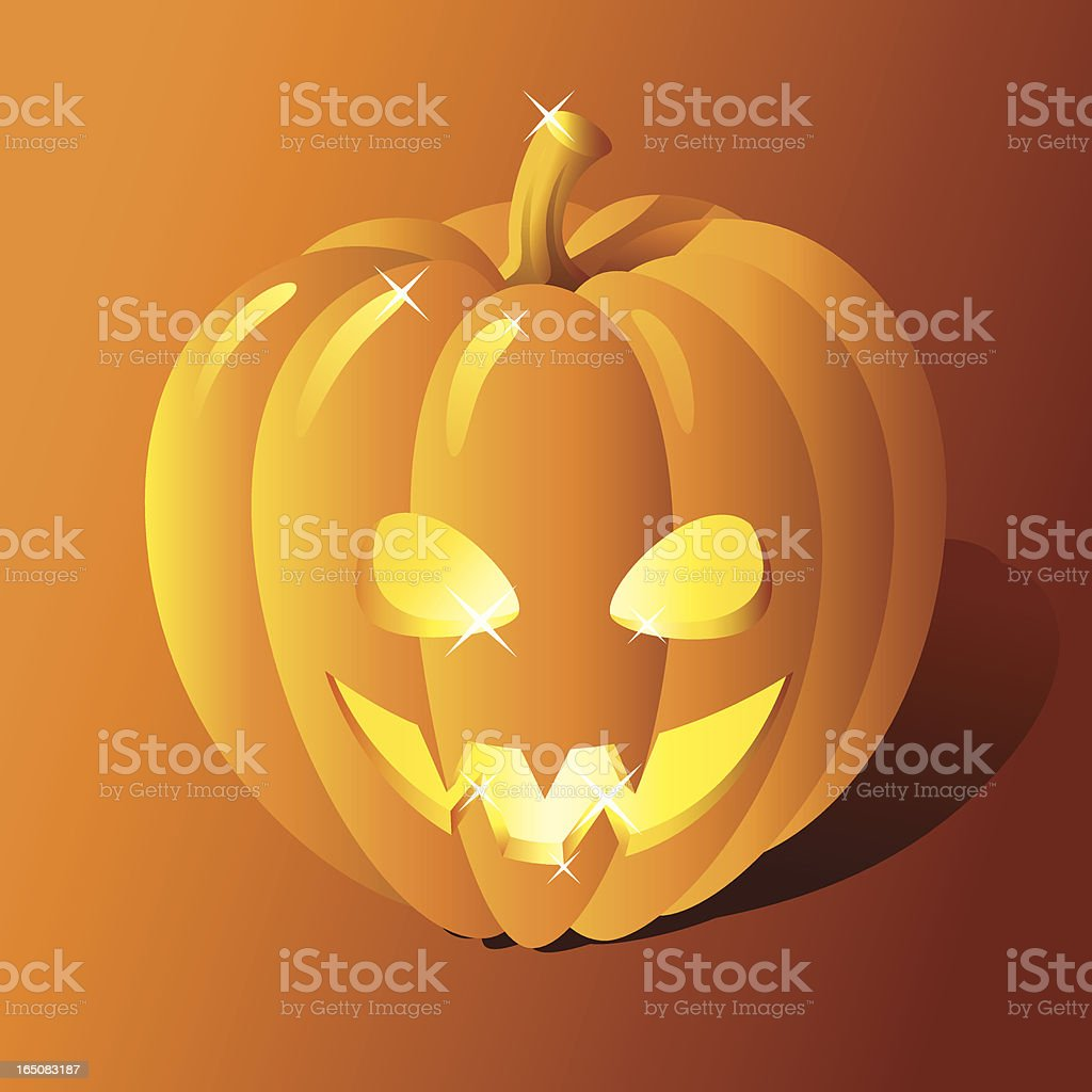Jack O'Lantern royalty-free stock vector art