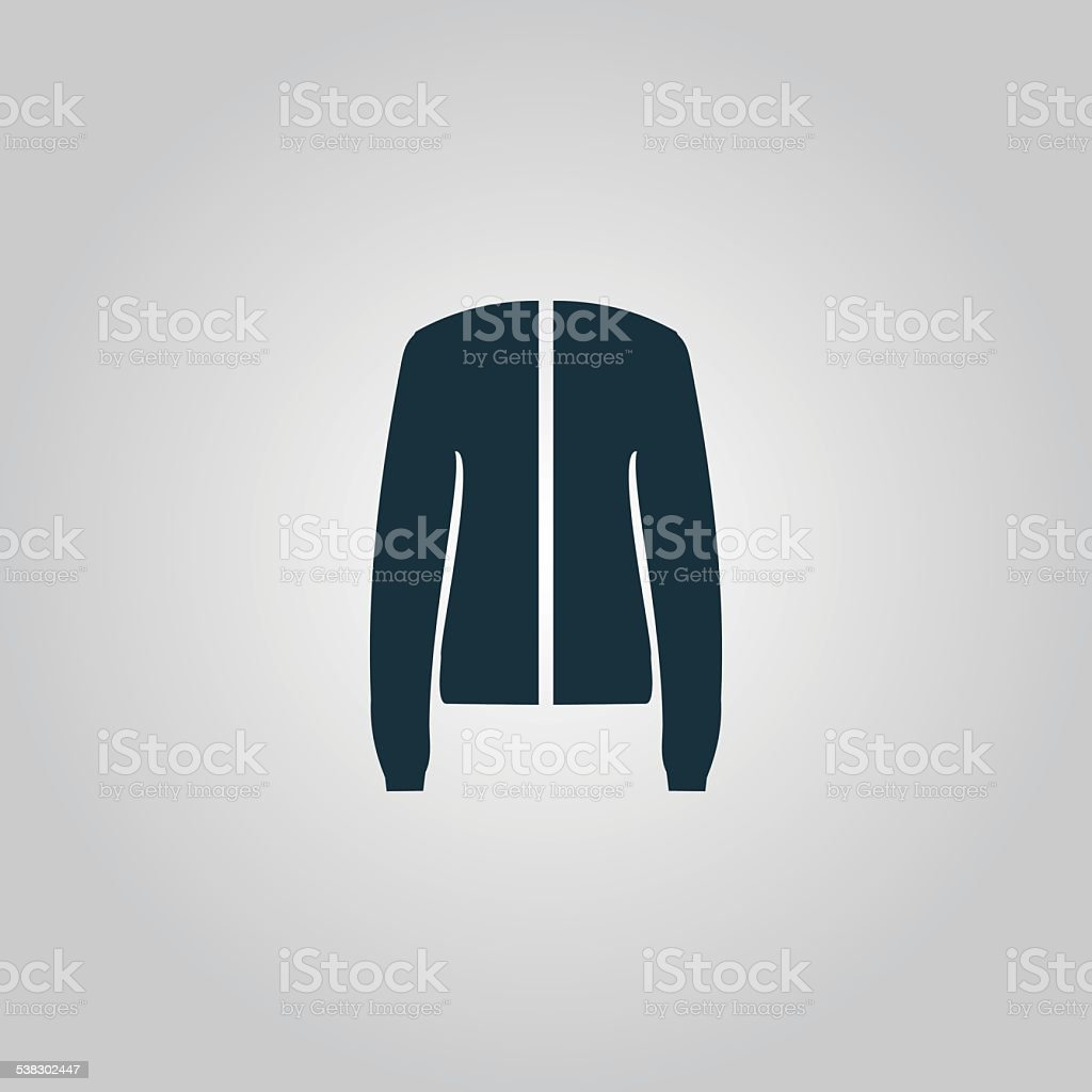 Jacket, vector vector art illustration