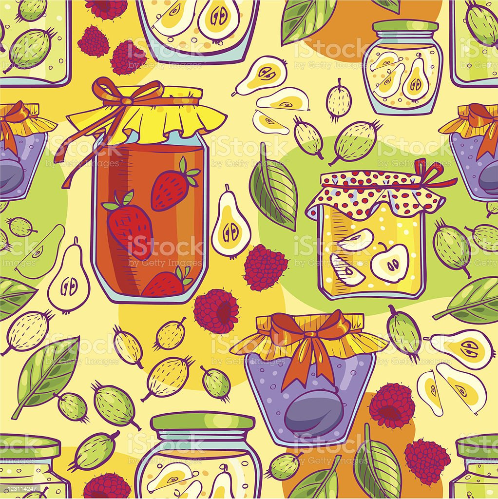 Jam seamless royalty-free stock vector art
