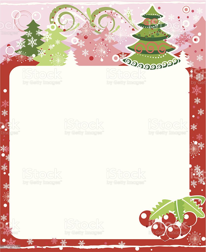 January royalty-free stock vector art