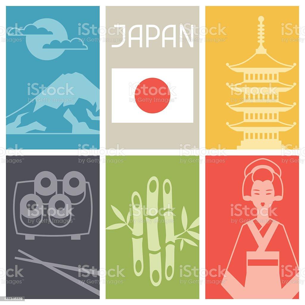 日本の背景デザイン のイラスト素材 537346339 | istock