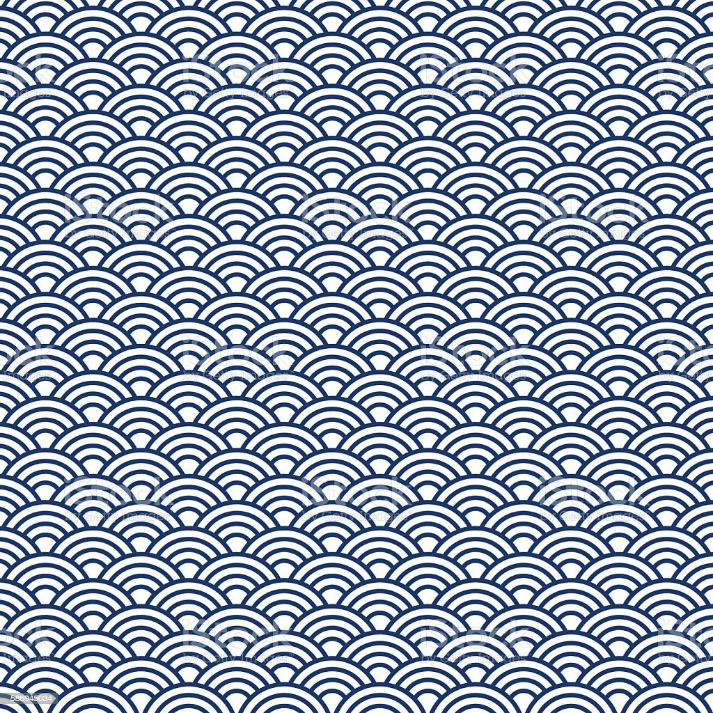 japan pattern vector art illustration