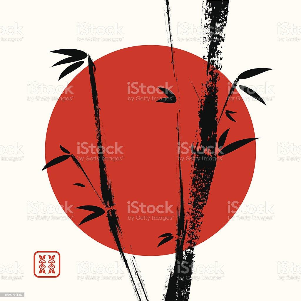 Japanese motif royalty-free stock vector art