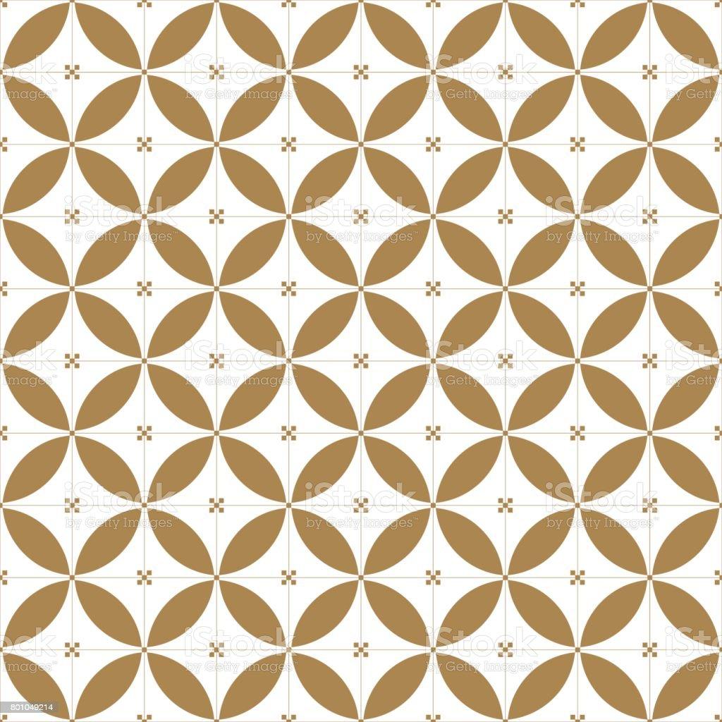 Japanese vector background. Gold Stitch pattern vector. vector art illustration