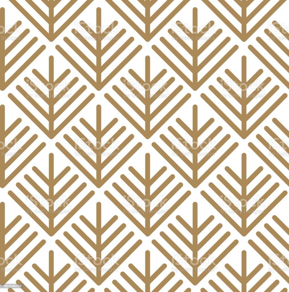 Japanese vector background. Stitch pattern vector. vector art illustration
