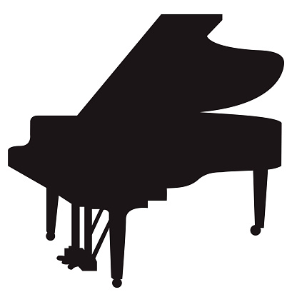 Piano Clip Art, Vector Images & Illustrations - iStock