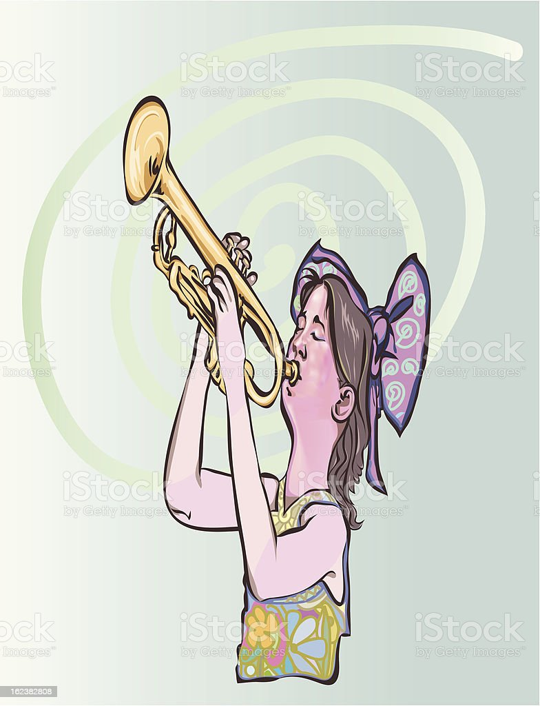jazz to all royalty-free stock vector art