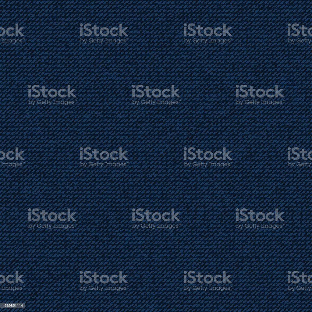 Jean seamless pattern vector art illustration