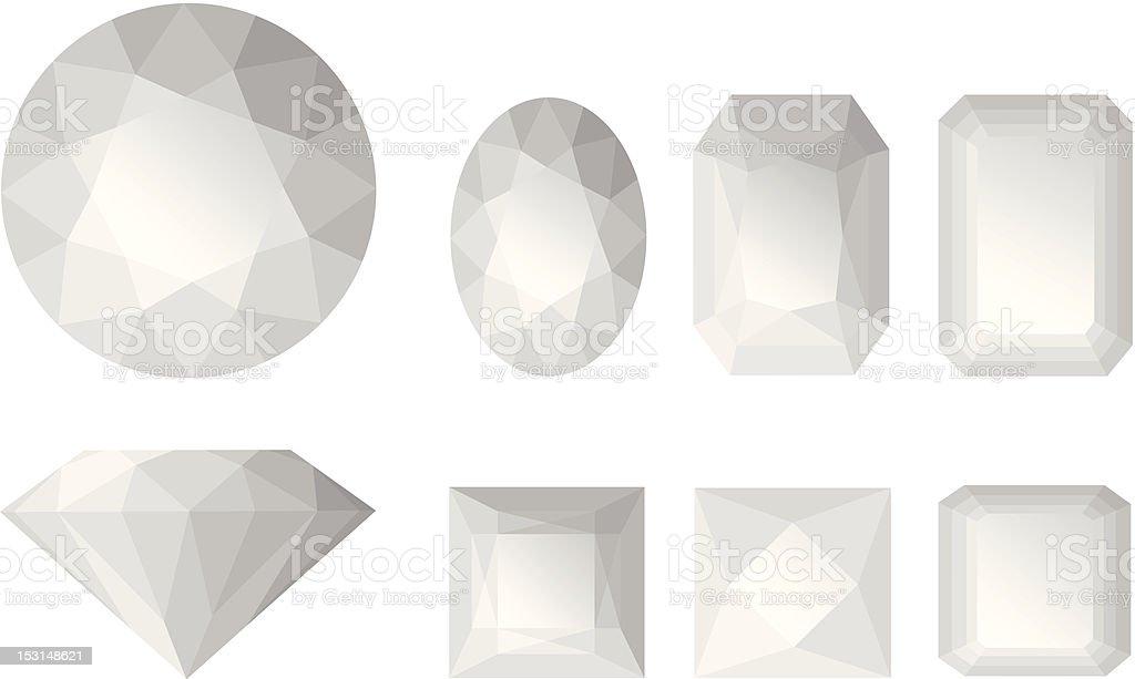 Jems royalty-free stock vector art
