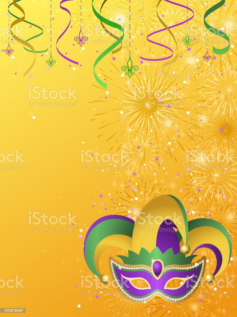 Jester Background royalty-free stock vector art
