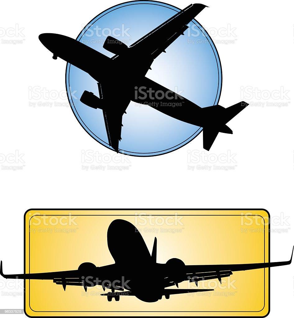Jet Icons vector art illustration