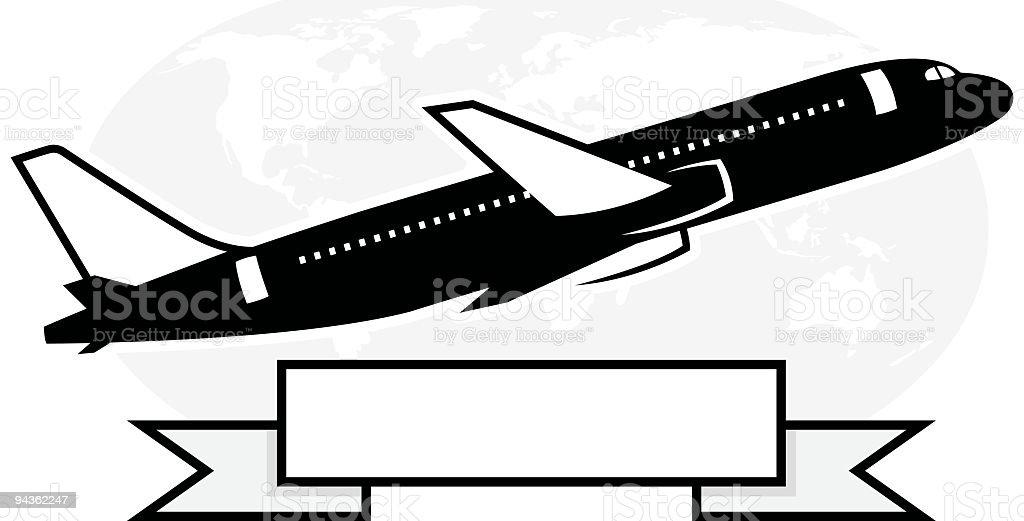 Jet series royalty-free stock vector art