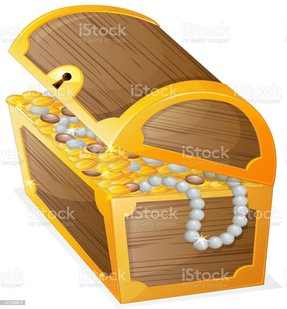 Jewellery box royalty-free stock vector art