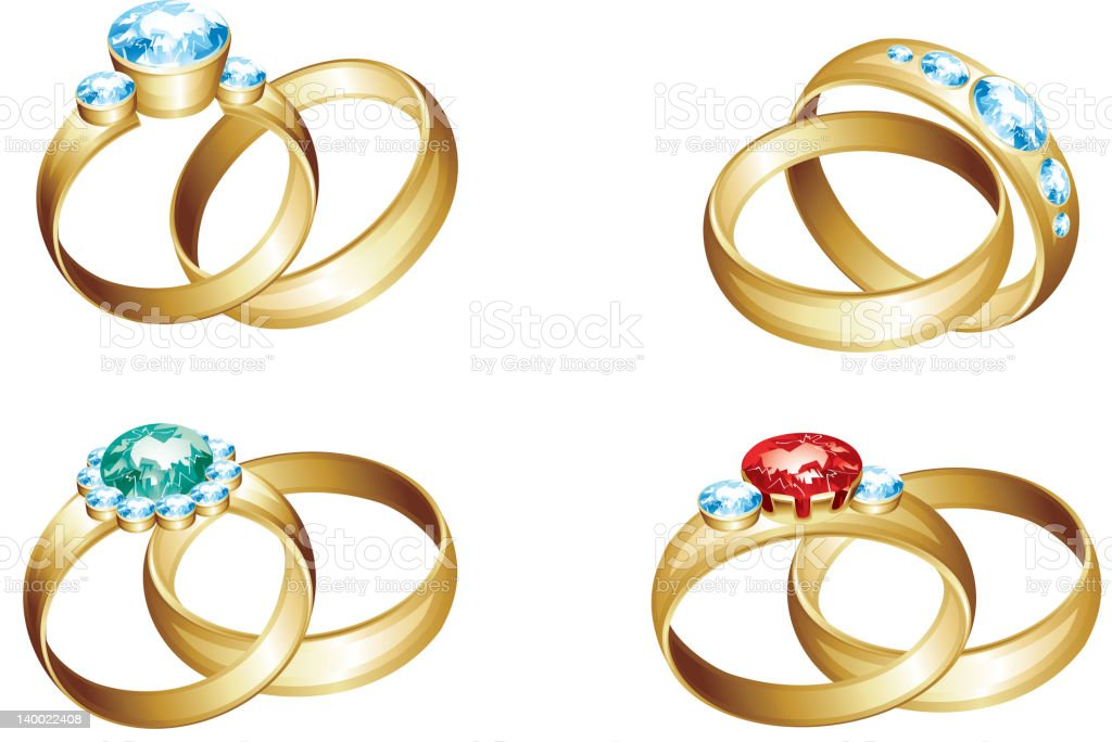 Jewellery royalty-free stock vector art