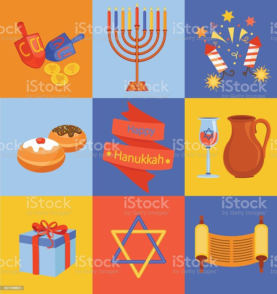 Hanukkah, Typescript, Gift, Candle, Menorah