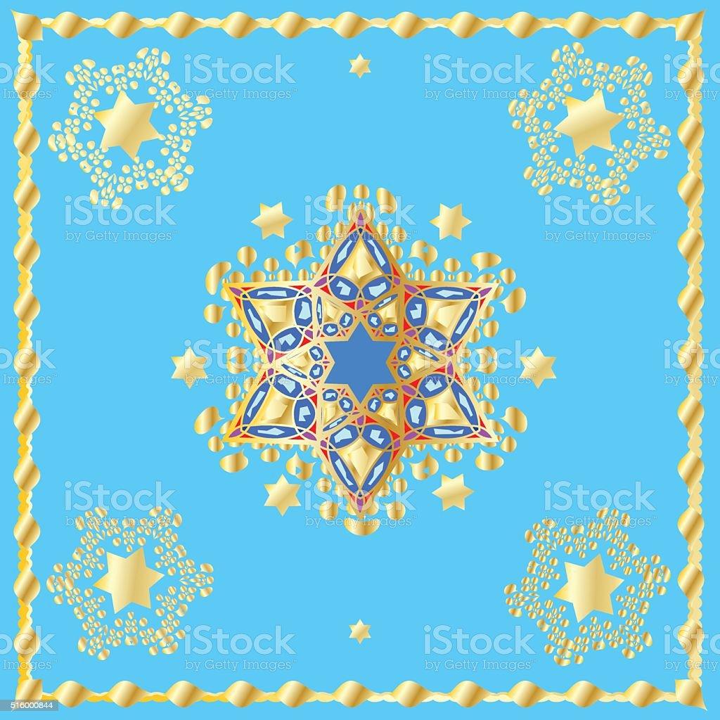 Jewish Holiday vector art illustration