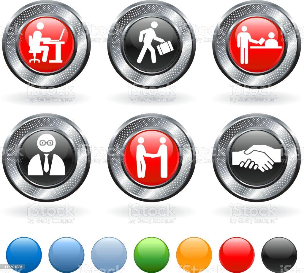 job interview royalty free vector icon set royalty-free stock vector art