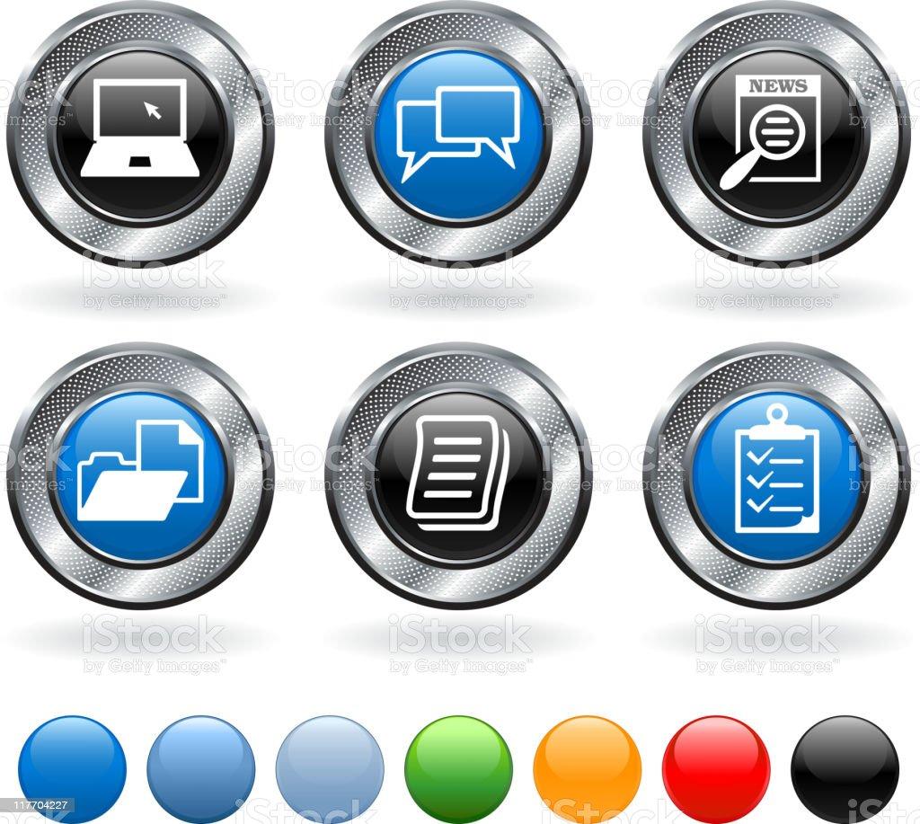 job networking royalty vector icon set stock vector art job networking royalty vector icon set royalty stock vector art