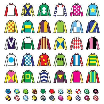 Uniform clip art vector images illustrations istock for Jockey silks template