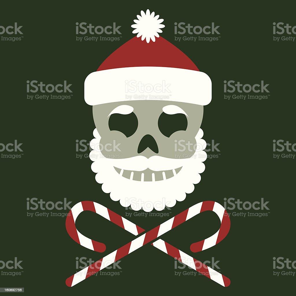 Jolly Saint Nick royalty-free stock vector art