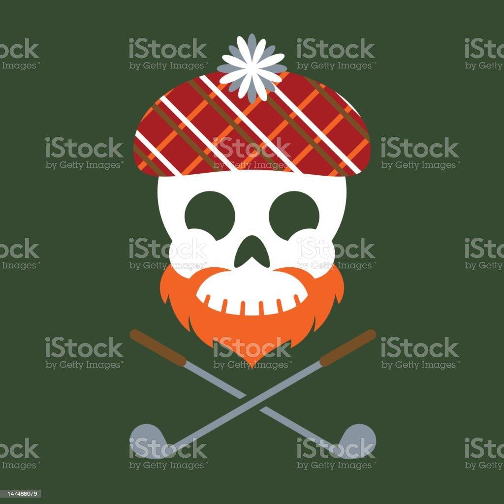 Jolly Scotsman royalty-free stock vector art