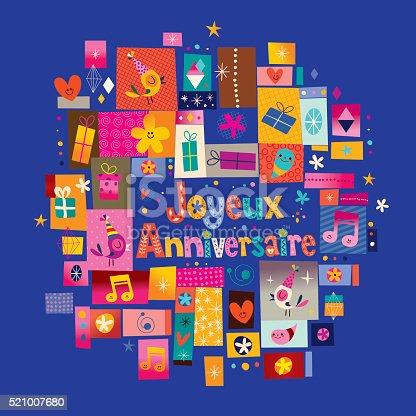 Поздравление на французском с днем рождения 10