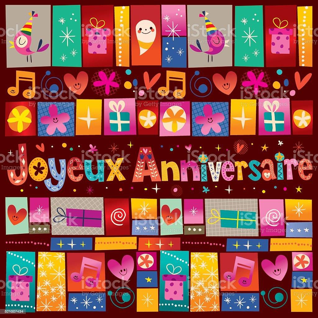 Поздравление с днем рождения по-французски с переводом 45