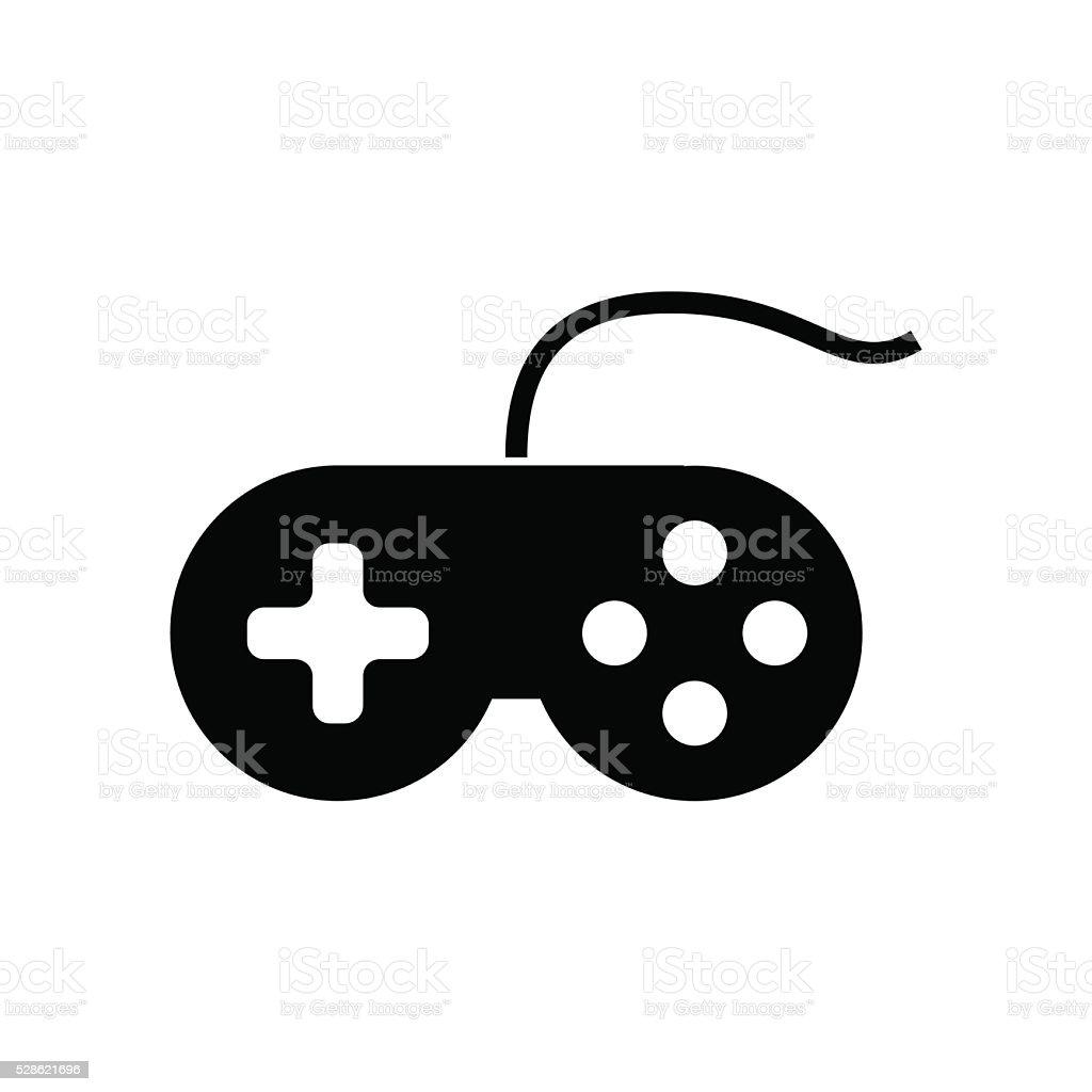 Joystick icon. Vector illustration vector art illustration