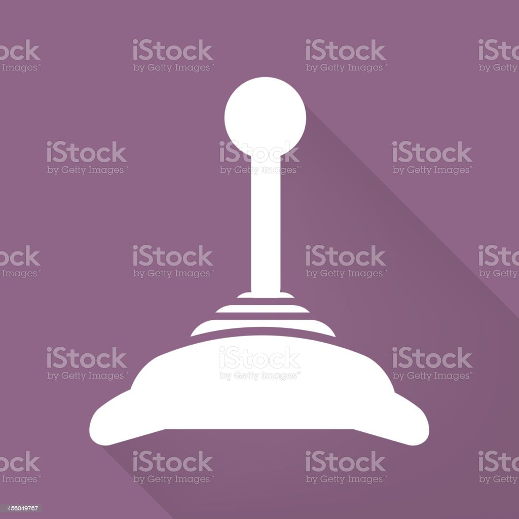 Joystick web icon royalty-free stock vector art