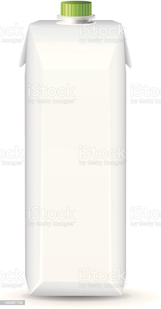 Juice box template royalty-free stock vector art