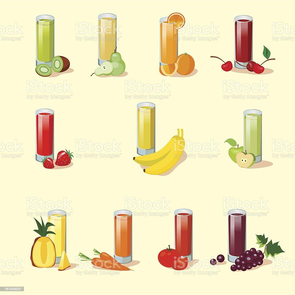 juice royalty-free stock vector art