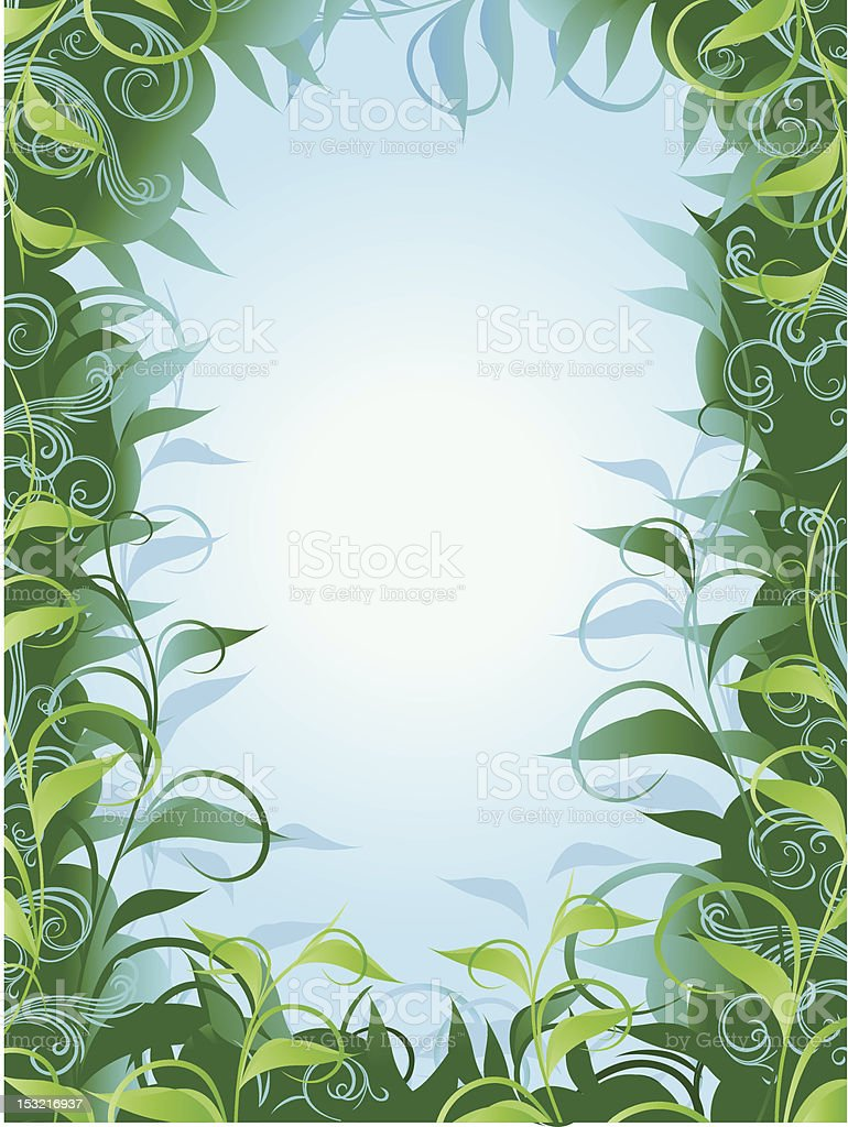 Jungle Design royalty-free stock vector art
