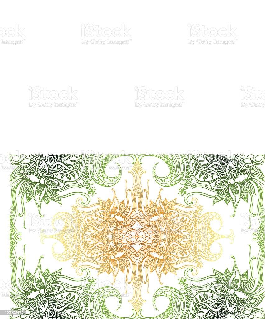 Dschungel-design Lizenzfreies vektor illustration