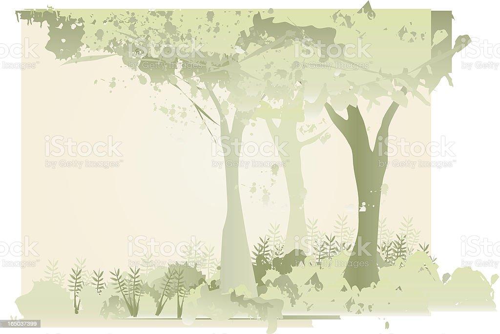 Jungle (vector) vector art illustration