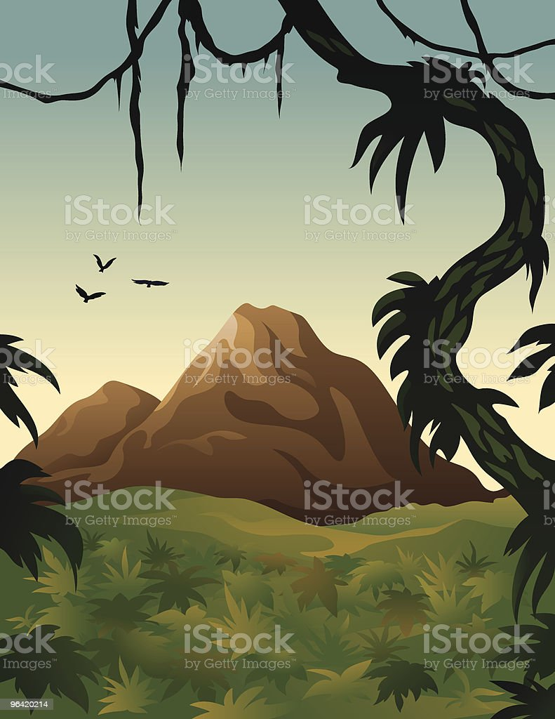 Jungle royalty-free stock vector art