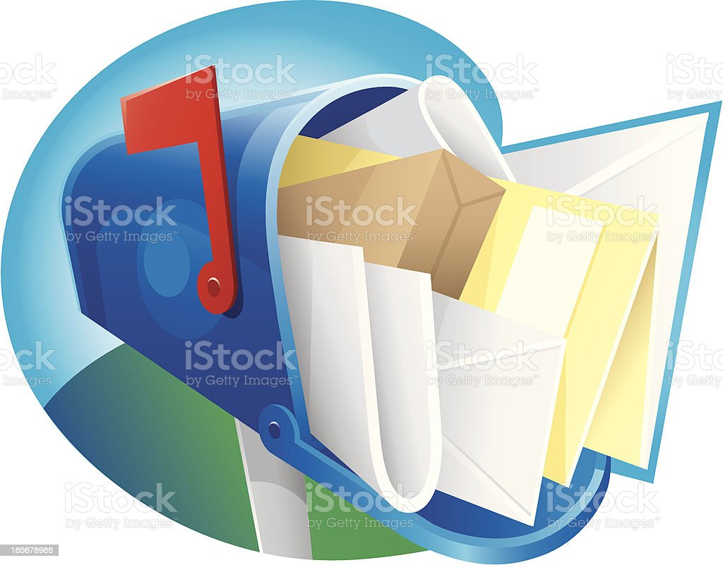 junk mail royalty-free stock vector art