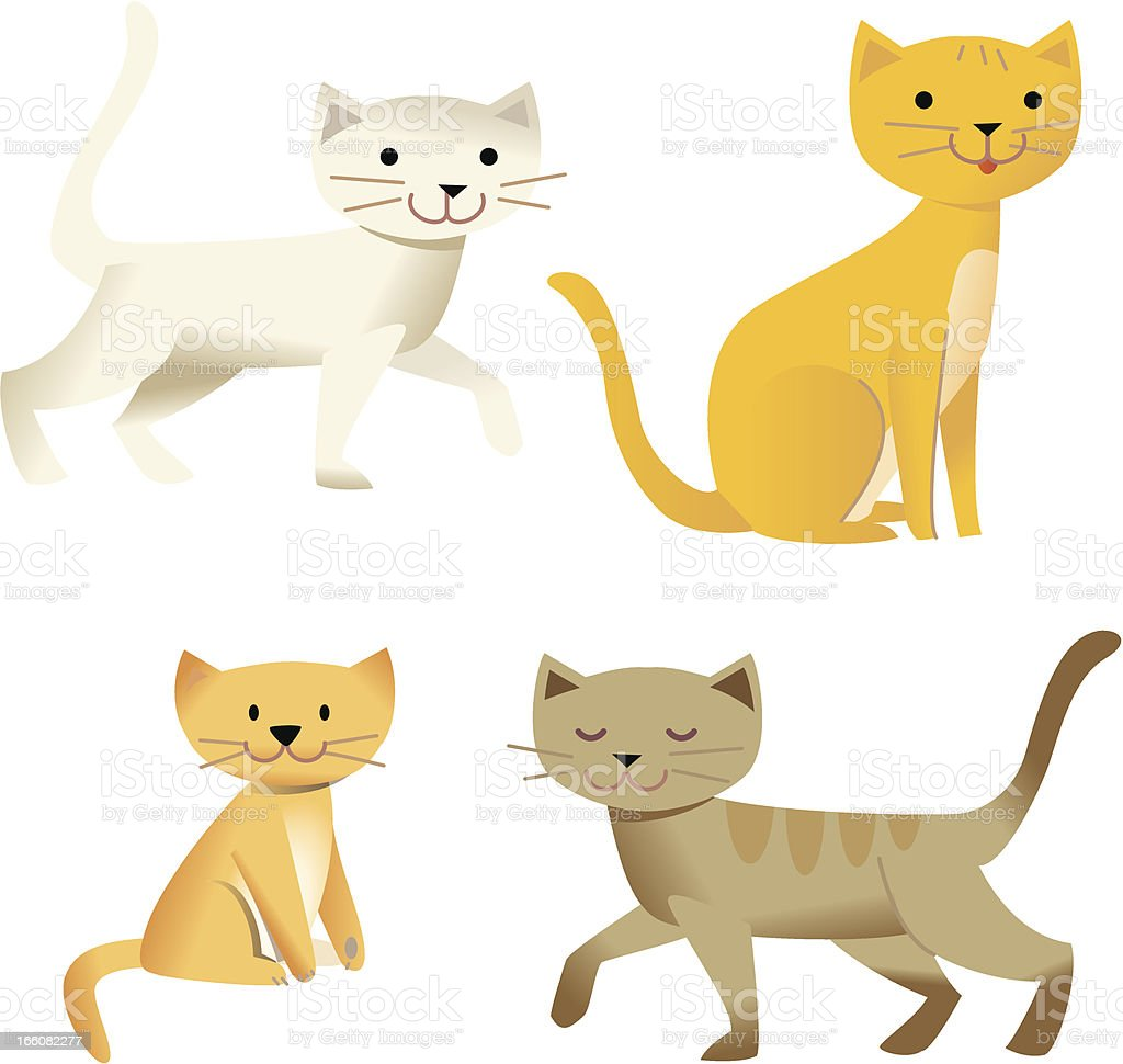 Just for Cats vector art illustration