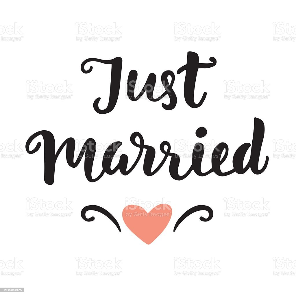 just married clip art  vector images   illustrations istock marriage clipart with cross marriage clipart