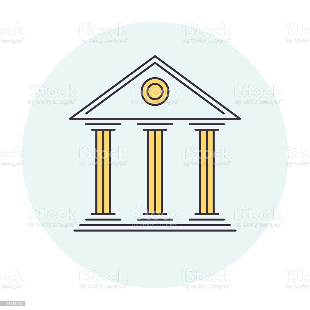 Justice Symbol vector art illustration