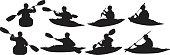 Kayaker kayaking