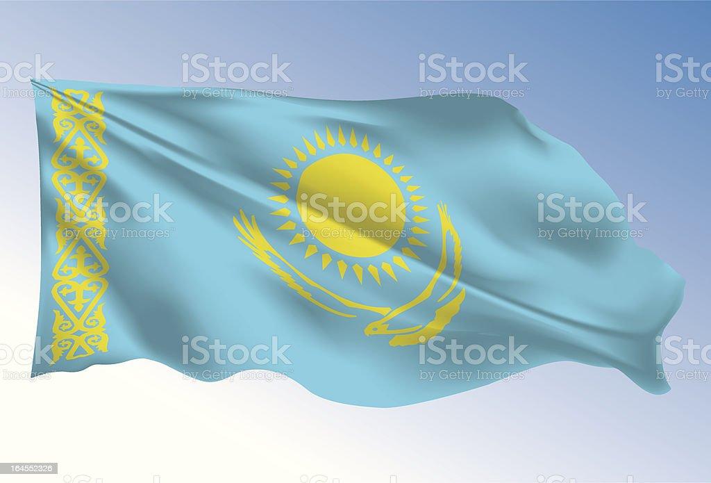 Kazakhstan royalty-free stock vector art