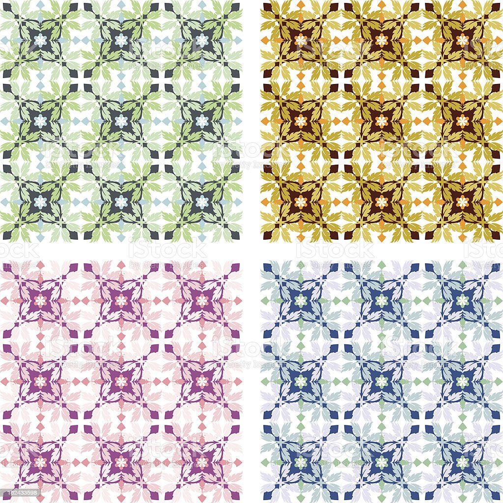 Kelly Elayne Patterns (Seamless) vector art illustration