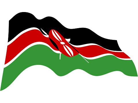 Kenya Flag Backgrounds Clip Art, Vector Images & Illustrations
