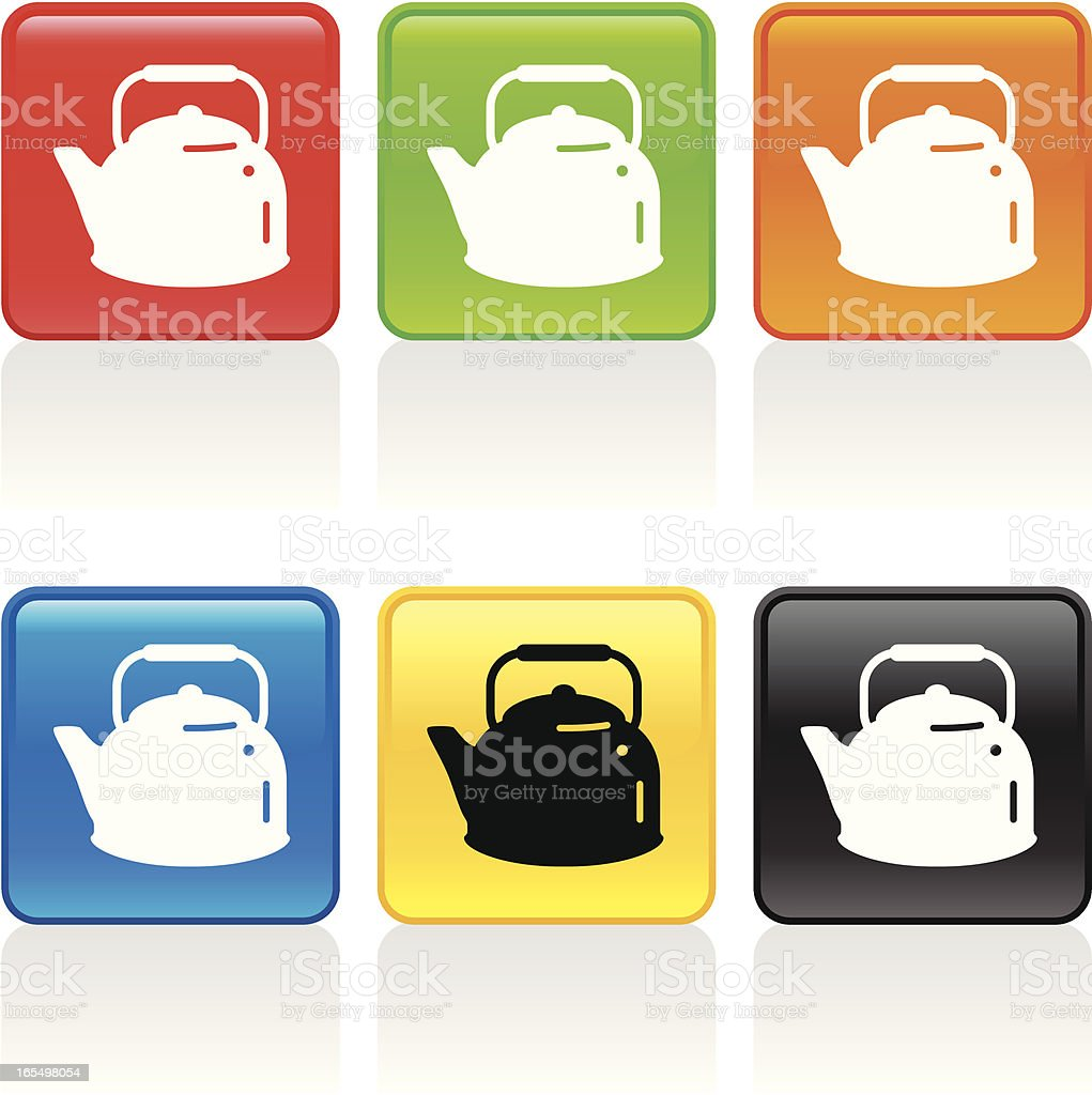 Kettle Icon royalty-free stock vector art