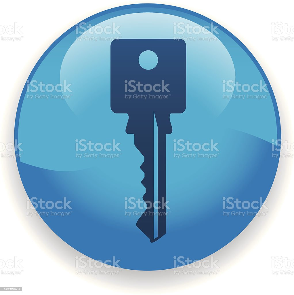 Key Icon royalty-free stock vector art