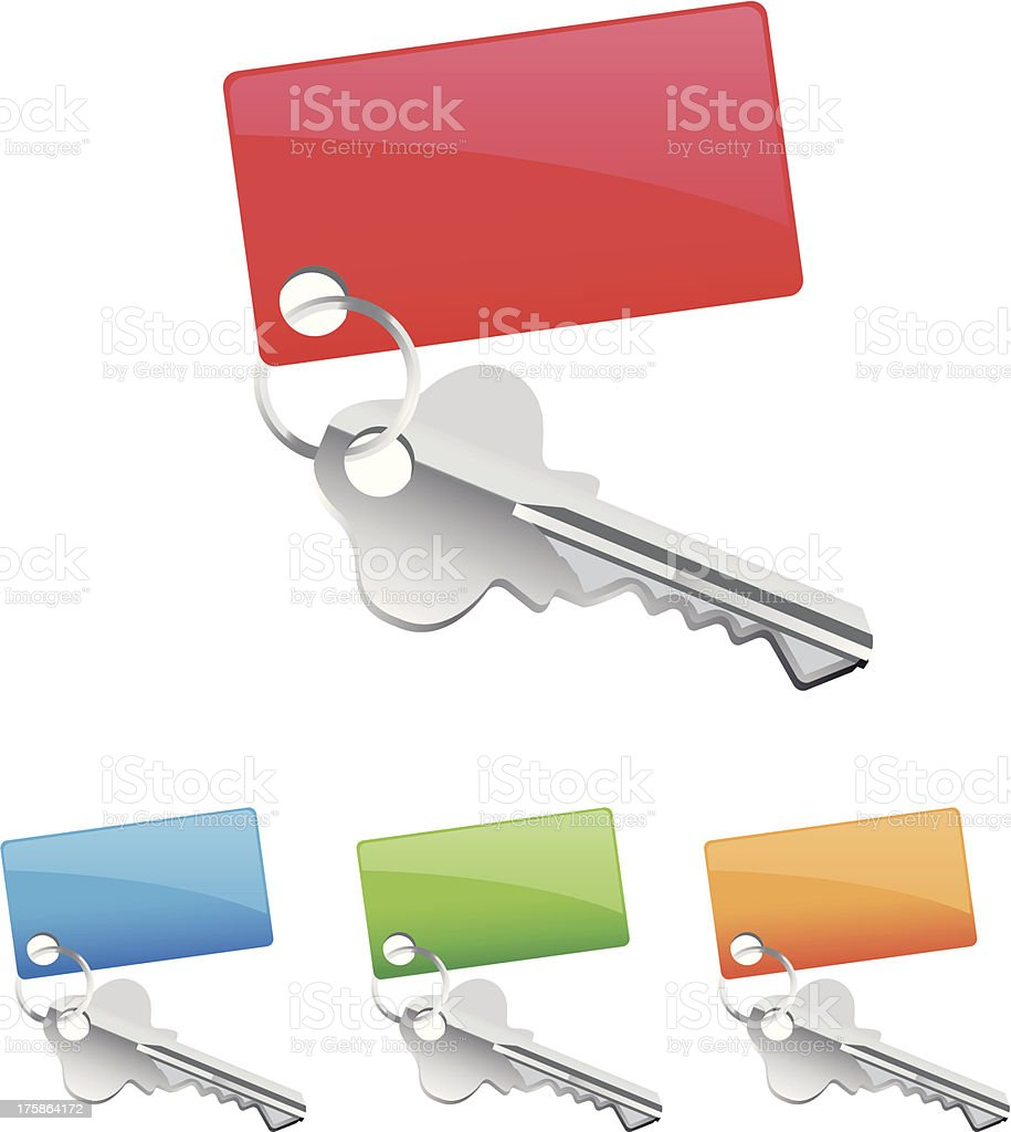 key icons royalty-free stock vector art