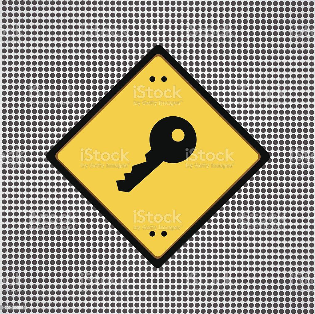 key symbol royalty-free stock vector art